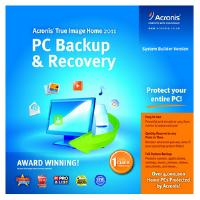 Acronis True Image Home 2011 System Builder Version